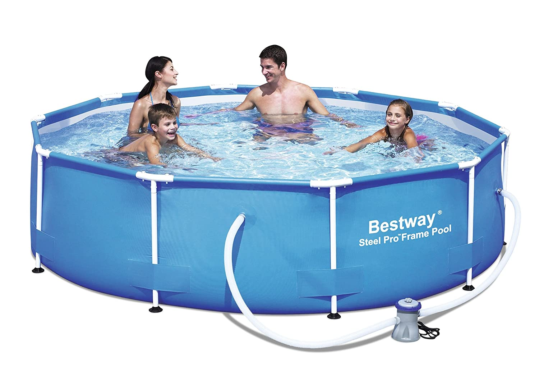 Welcher frame pool ist besser intex oder bestway for Pool aufstellbar