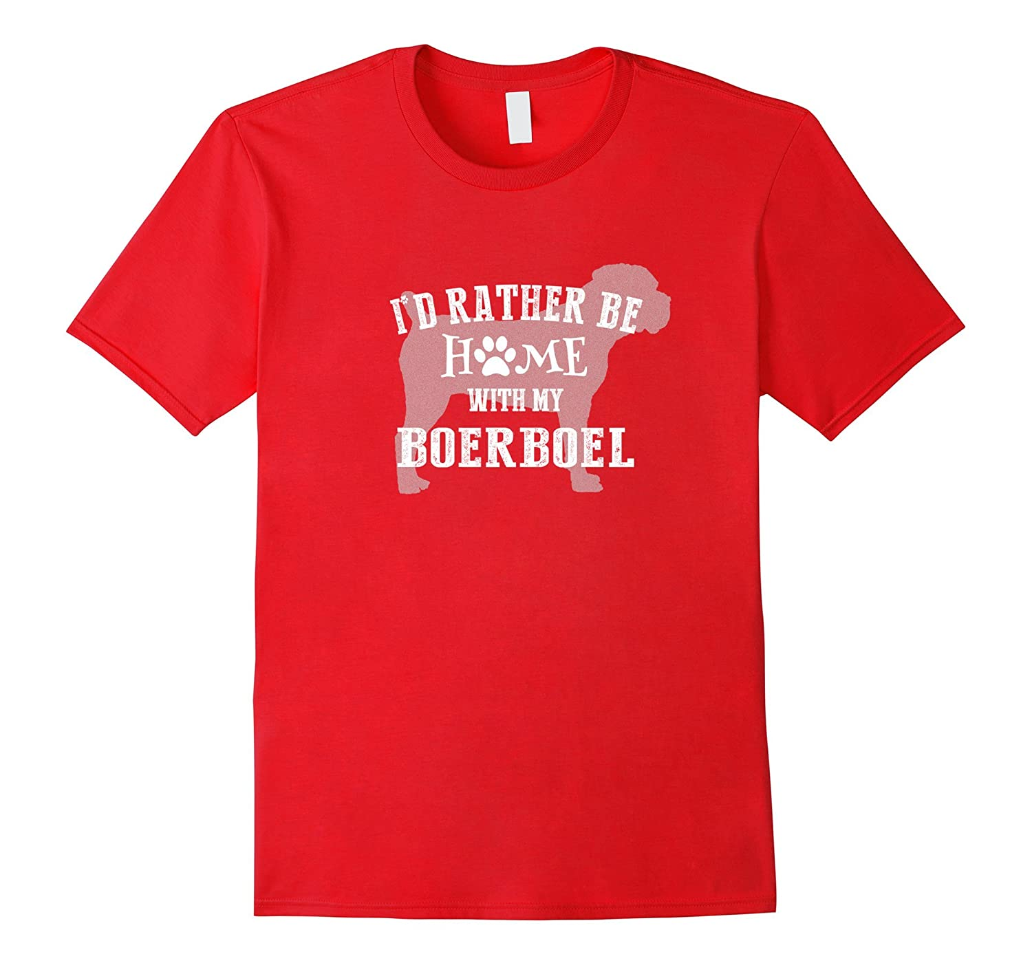 Home with My Boerboel Best Boerboel Shirt-TH