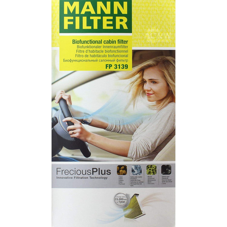 MANN-FILTER Inspektions Set Inspektionspaket Luftfilter Innenraumfilter