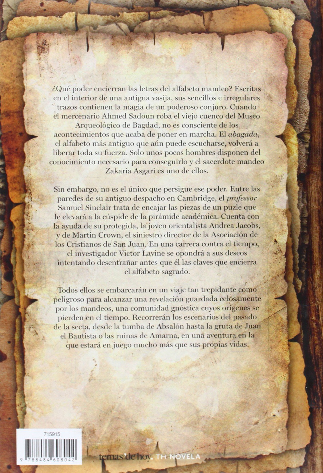 El alfabeto sagrado: Gemma Nieto Echevarría: 9788484608042: Amazon.com: Books