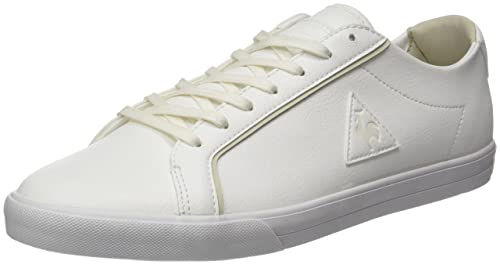 Le COQ Sportif Feret ATL Leather, Entrenadores Bajos para Hombre, Blanco (Optical White/Turtle), 43 EU