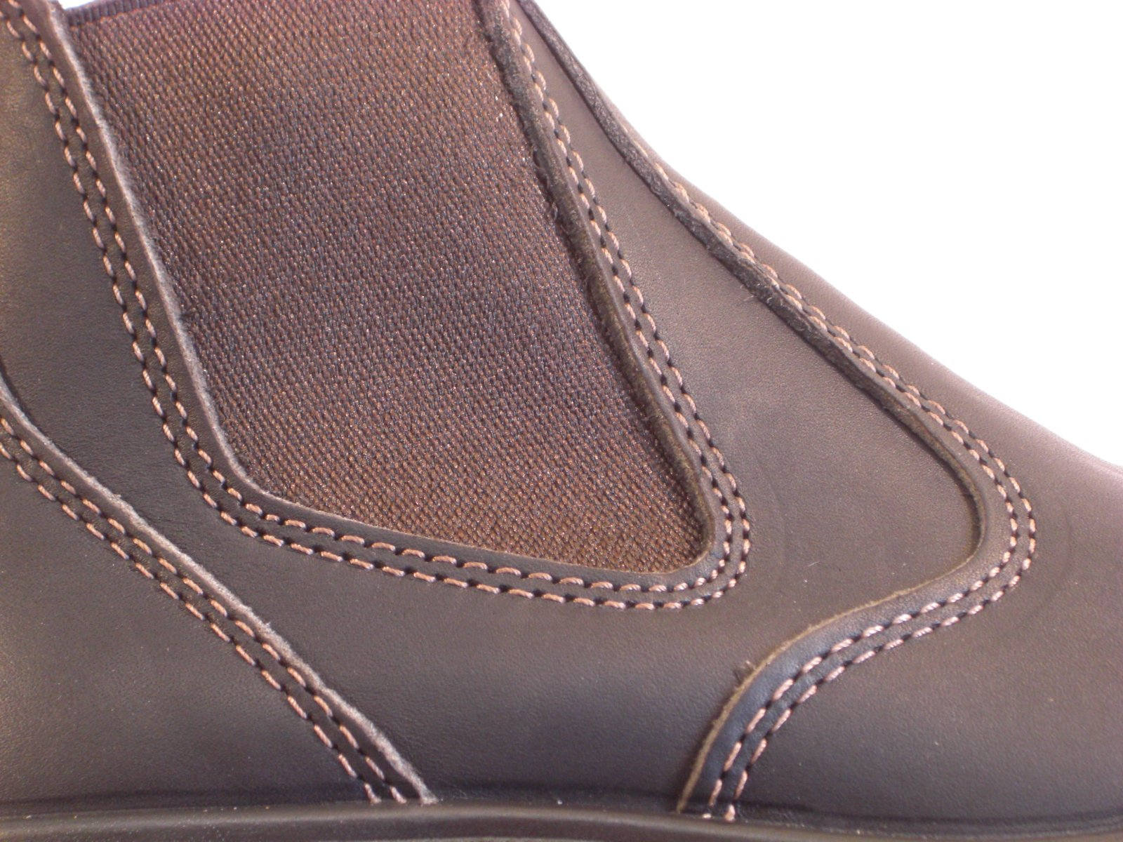 8de3268115d RedbacK Men's Safety Bobcat USBOK Elastic Sided Steel Toe Dark Brown ...