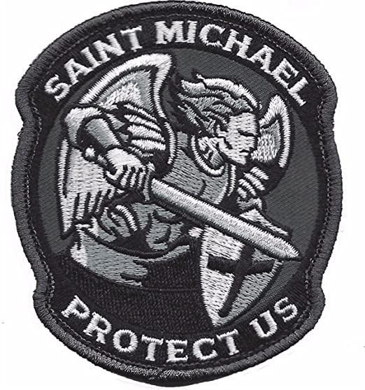 Saint Michael Protect Us Patch Police Patch