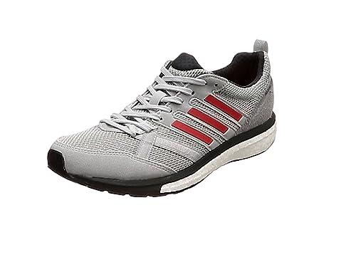 adidas Adizero Tempo 9 m, Zapatillas de Running para Hombre, Gris (Grey Two F17/Hi-Res Red S18/Carbon S18), 48 EU: Amazon.es: Zapatos y complementos