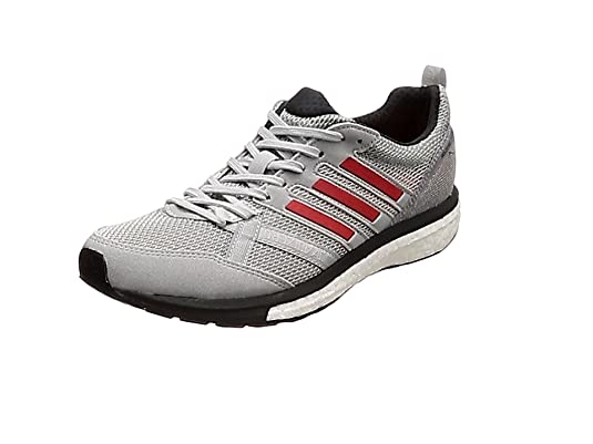 new products d52fd 7fcbe adidas Mens Adizero Tempo 9 Running Shoes, (Grey Two F17Hi-Res