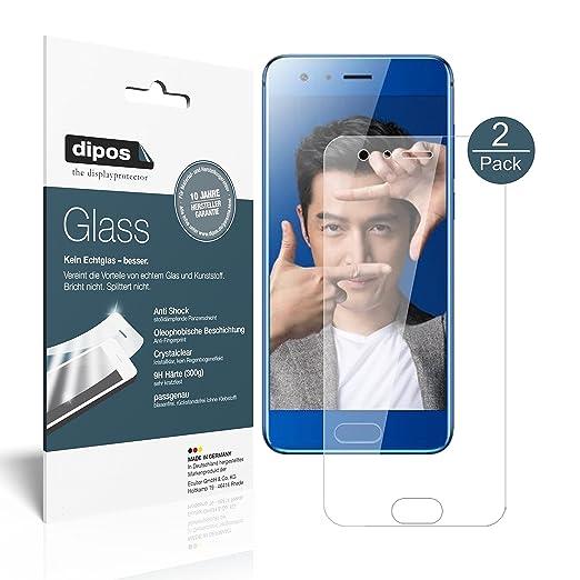 4 opinioni per Huawei Honor 9 Pellicola Protettiva- 2x dipos Glass Protezione Vetro Flessibile