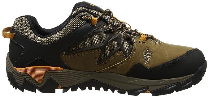 Merrell out Blaze 2 Gore-Tex, Stivali da Escursionismo Uomo, Marrone (Sand), 43.5 EU