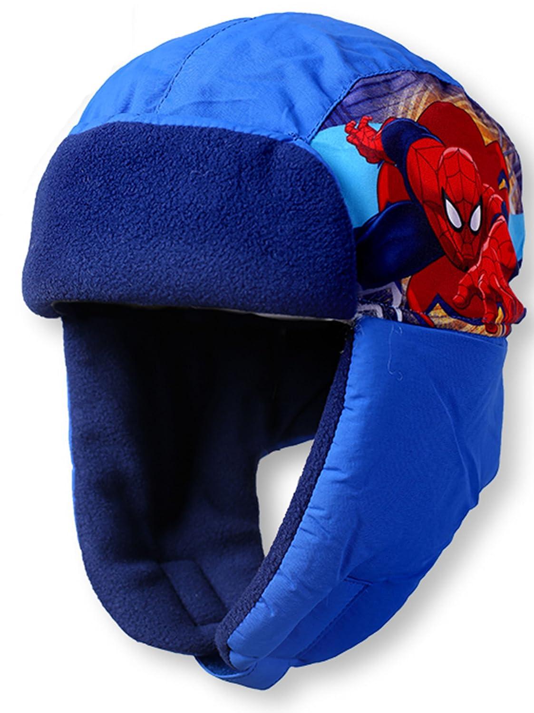 Marvel Spiderman Wintermütze Schapka in verschiedenen Farben & Größen (UN958)