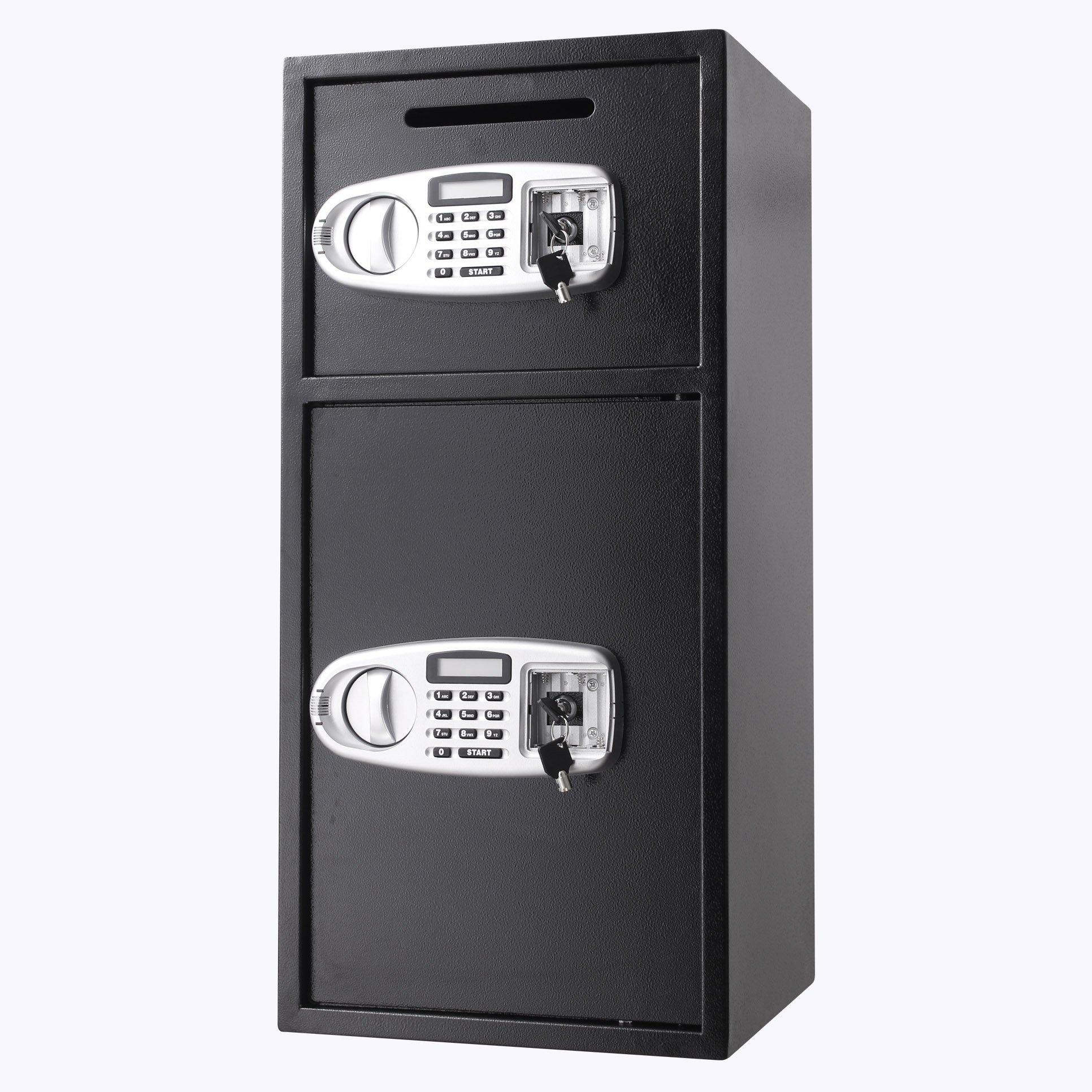 Superland Large Double Door Security Safe Box Depository Safe Steel Safe Box Digital Safe Depository for Money Gun Jewelry (Large Digital Safe Box) by Superland (Image #4)