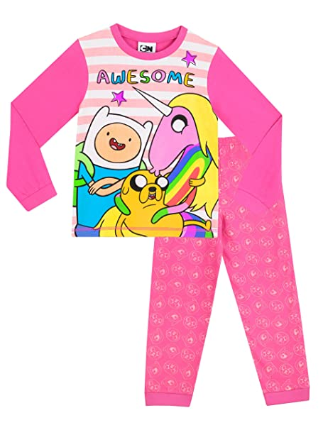Adventure Time - Pijama para niñas - Hora de Aventuras - 12 - 13 Años
