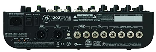 amazon com mackie 1202vlz4 12 channel compact mixer musical