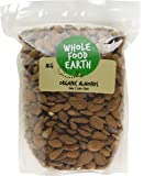 Wholefood Earth Organic Whole Almonds, 1 kg