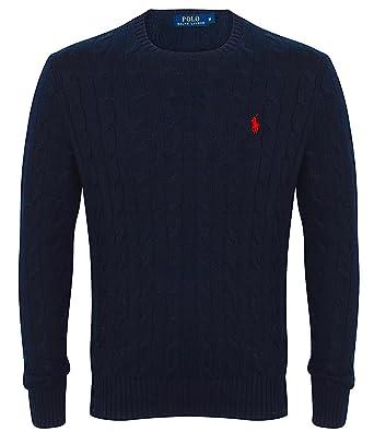 Vendita online pullover a treccia Ralph Lauren da uomo