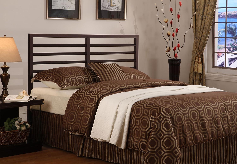 amazoncom bronze metal adjustable full queen size headboard bedframes full size
