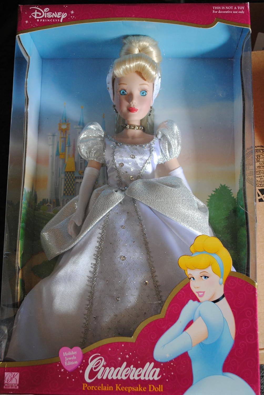 venderse como panqueques Disney Cinderella Porcelain Porcelain Porcelain Keepsake Doll  producto de calidad