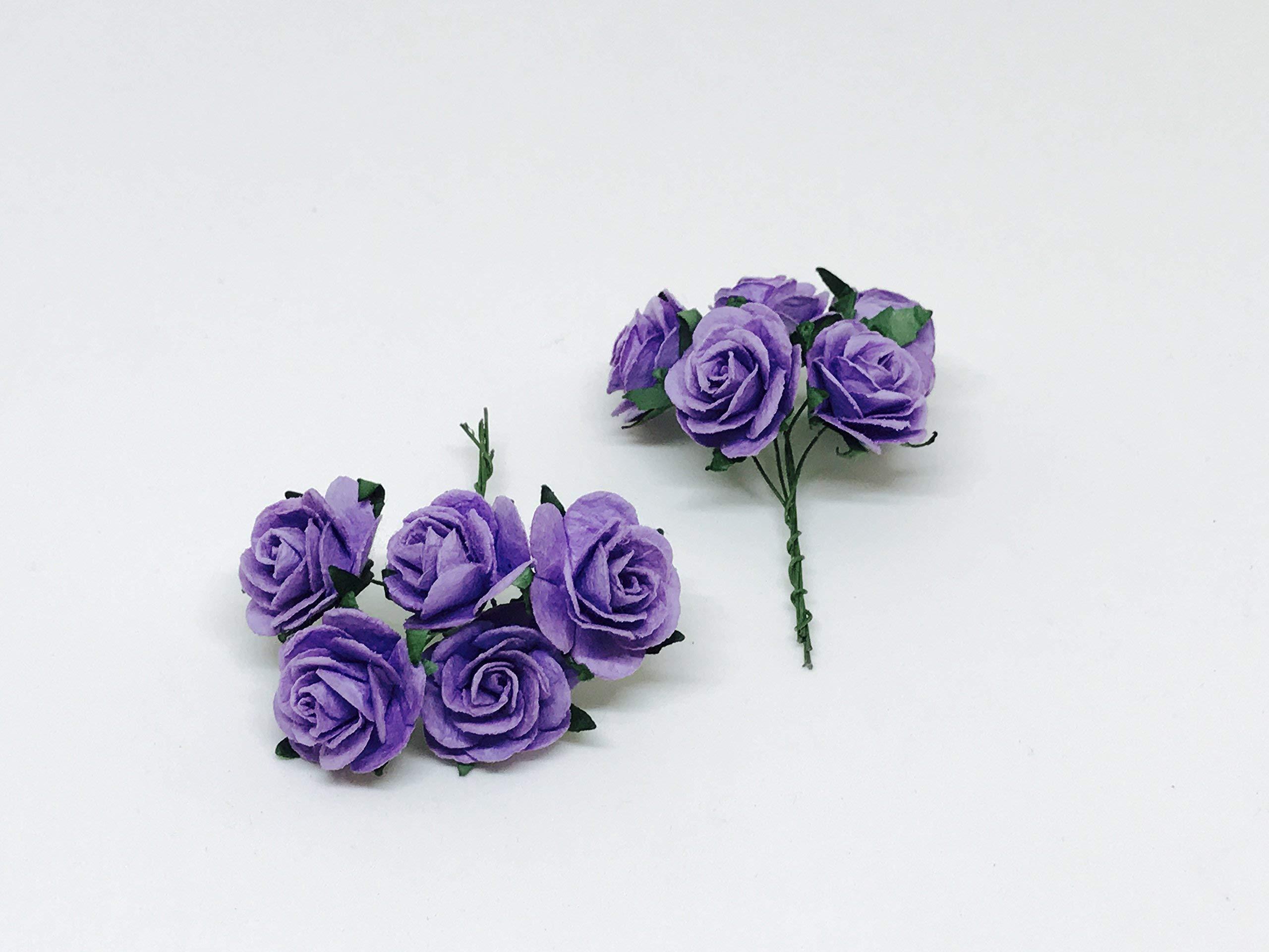 1-Purple-Paper-Flowers-Paper-Rose-Artificial-Flowers-Fake-Flowers-Artificial-Roses-Paper-Craft-Flowers-Paper-Rose-Flower-Mulberry-Paper-Flowers-20-Pieces