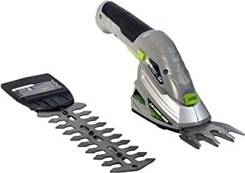 Earthwise 2-in-1 Hedge Trimmer and Cordless Grass Shear