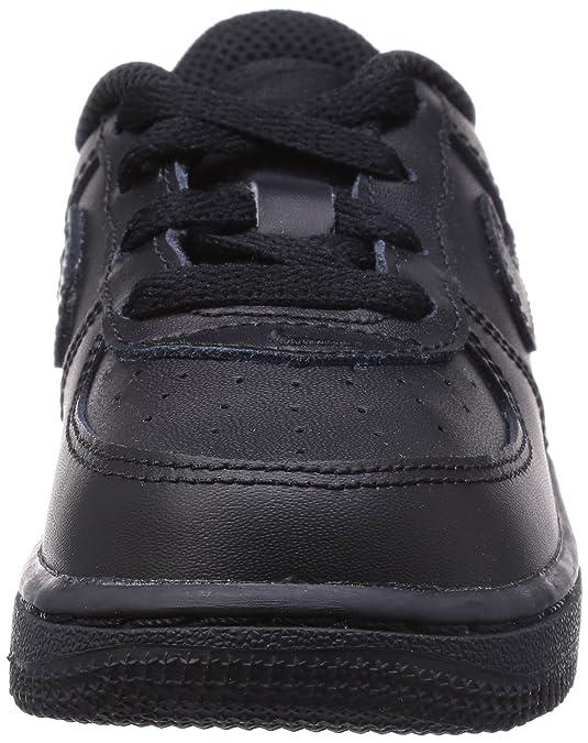 Nike Force 1 (TD), Zapatillas de Estar por Casa Bebé Unisex, Negro (Black/Black/Black 009), 19.5 EU