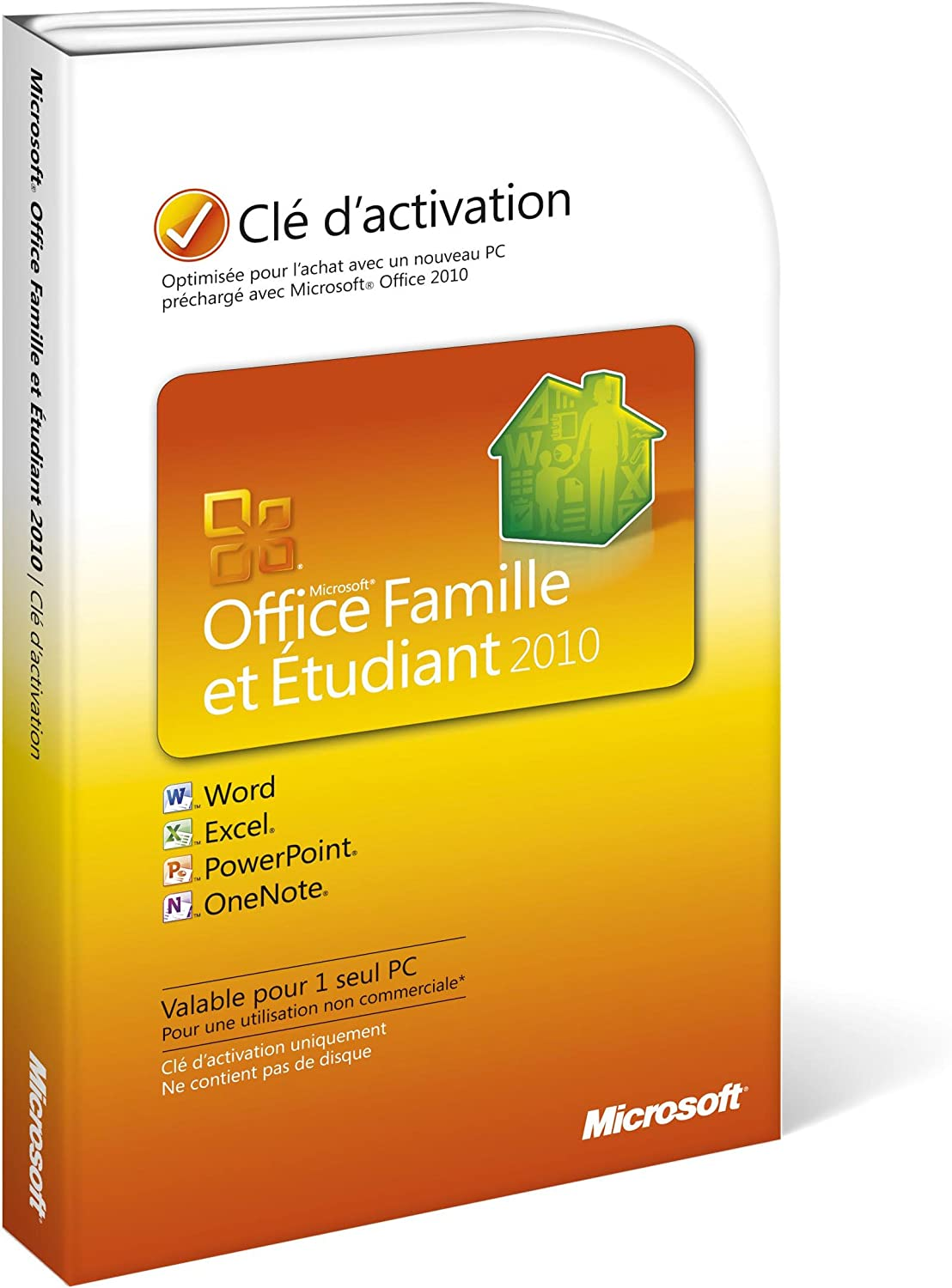 Microsoft Office Home & Student 2010 FR - Suites de programas (1 usuario(s), 3000 MB, 256 MB, 500 MHz): Amazon.es: Software