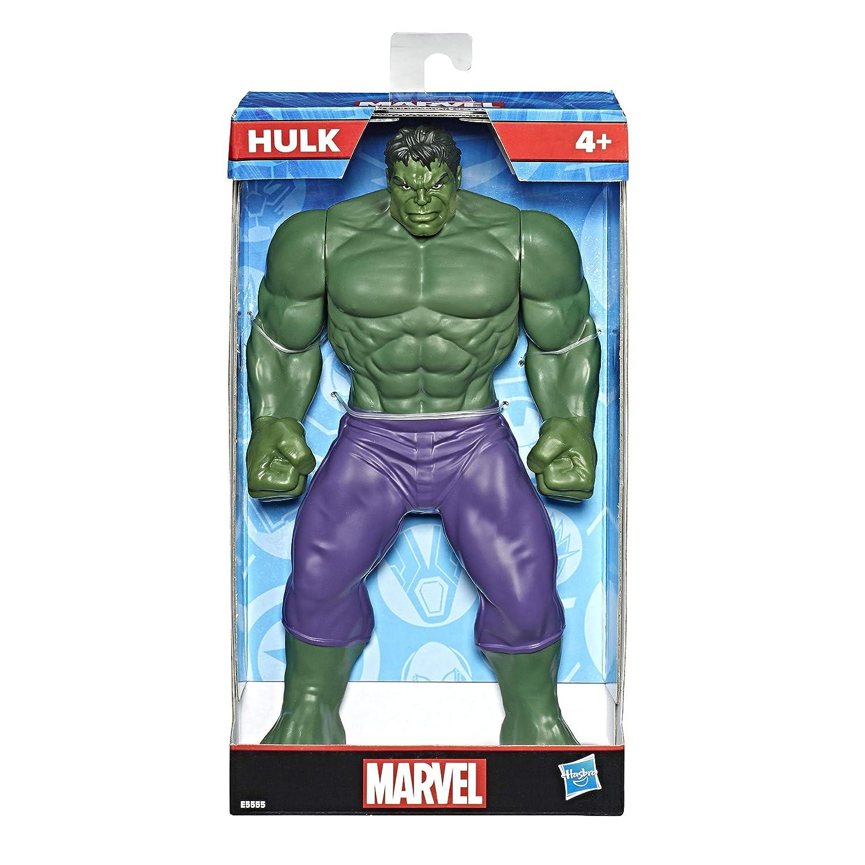 Marvel Classic- Classic 9.5In Hulk Figure, Multicolor ...