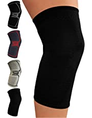 SB SOX Compression Knee Brace for Knee Pain - Braces and Supports Knee for Pain Relief, Meniscus Tear, Arthritis, Injury, Running, Support