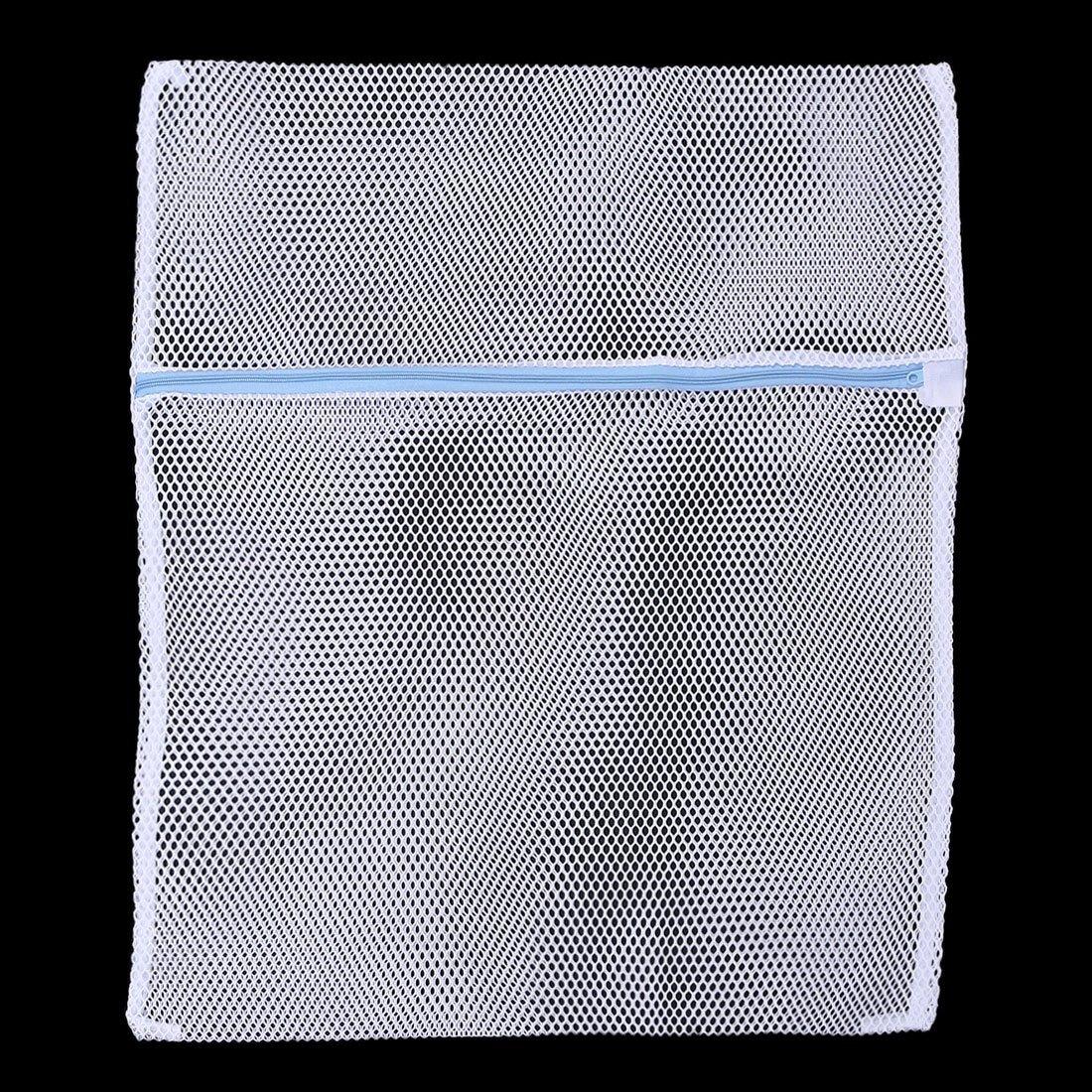 Amazon.com: eDealMax poliéster Familiar Lavandería Calcetines Ropa Interior Para máquina de Lavar la Bolsa de Malla DE 50 x 60 cm: Home & Kitchen