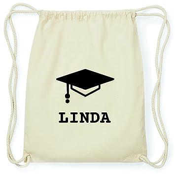 Jollify Turnbeutel Abschluss Geschenk Für Linda Absolventenhut