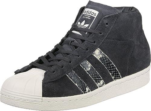 adidas, Donna, PRO Model, Suede/Pelle, Sneakers Alte, Grigio