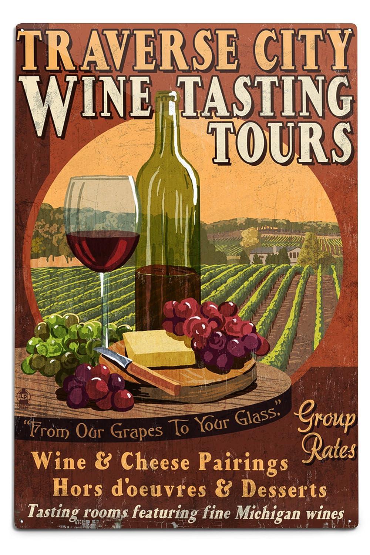 配送員設置 Traverse Sign City Mug、ミシガン州 Metal – Wine Tasting Vintage Sign 15oz Mug LANT-3P-15OZ-WHT-43924 B06Y11L3Q7 12 x 18 Metal Sign 12 x 18 Metal Sign, 海心:c70b6a72 --- podolsk.rev-pro.ru