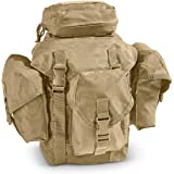 Ultimate Arms Gear Tactical Deluxe Coyote Tan Recon Military Gear MOLLE And ALICE Compatible Butt Pack Buttpack
