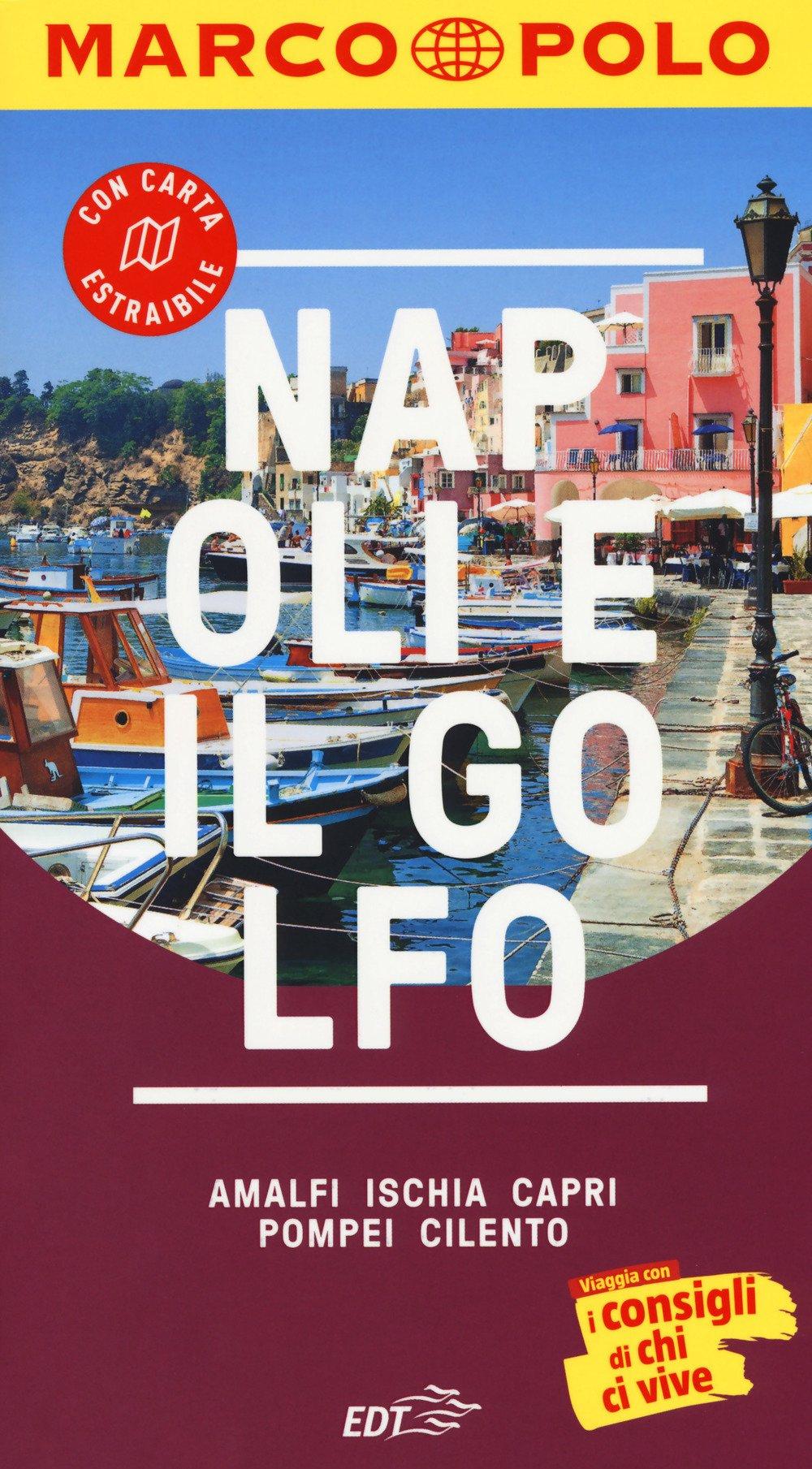 Napoli e il golfo. Con atlante stradale Guide Marco Polo: Amazon ...