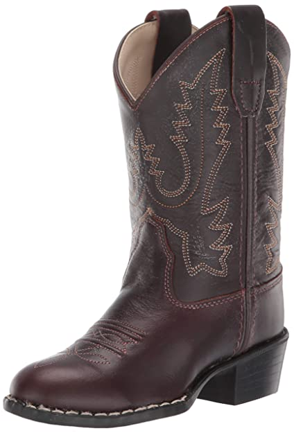 27bc2c6483d53 Old West Kids Boots Round Toe Western Boot (Toddler/Little Kid)