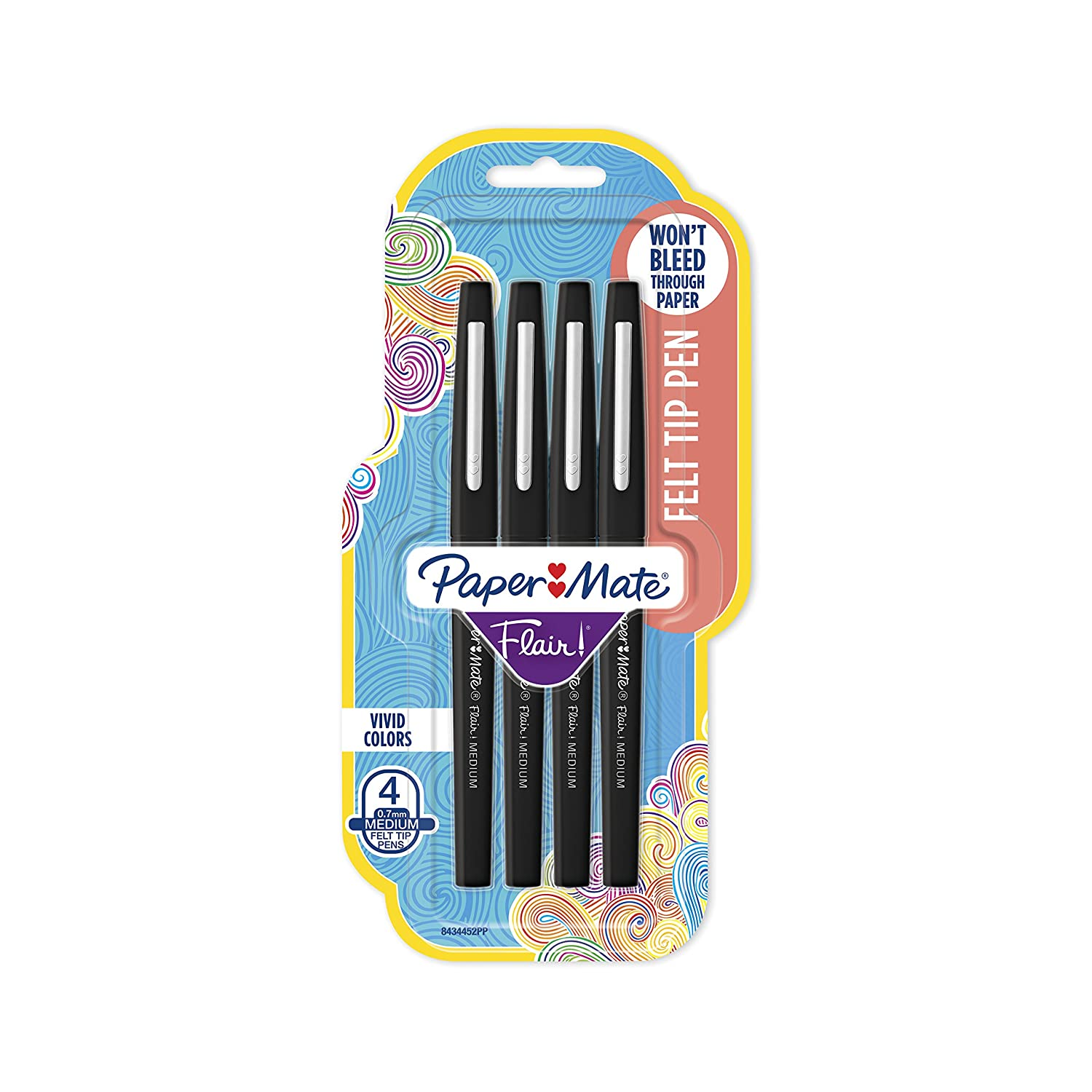 Paper Mate Flair Felt Tip Pens, Medium Point (0.7mm)