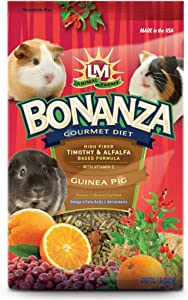 LM Animal Farms Bonanza Bounti-Buffet Guinea Pig Gourmet Food (4 lbs.)