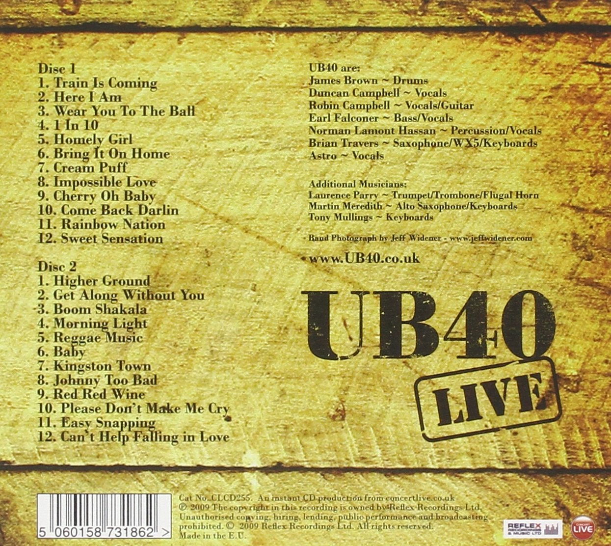 Live at the London O2 Arena by 101 DISTRIBUTION