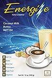 Energize Premium KETO Coffee Creamer, 52 Servings, MCT Oil, Butter, Coconut Milk (Keto)