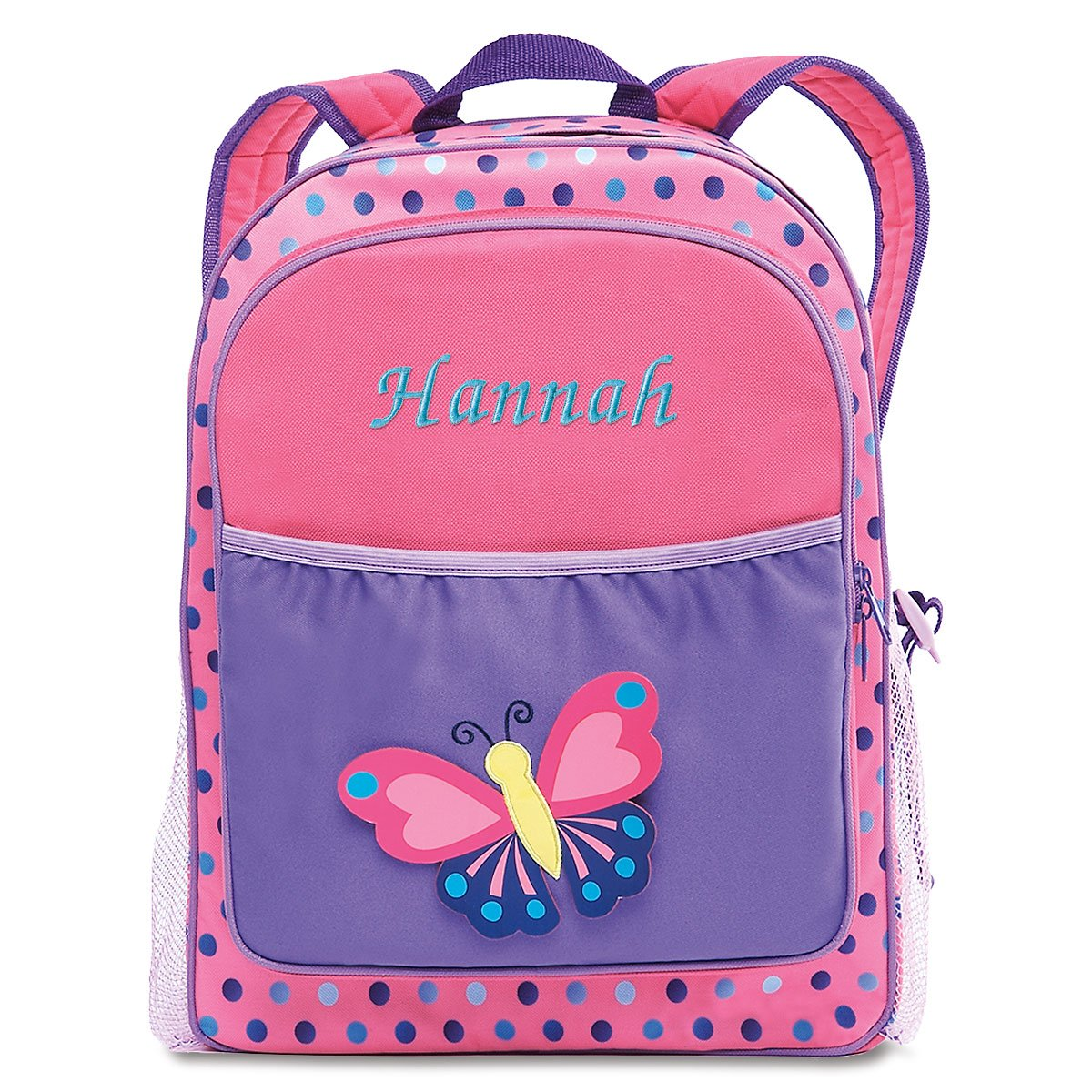 Butterfly kids personalized backpack lillian vernon kids backpacks jpg  1200x1200 Hello kitty rolling backpack butterfly 37360b1c5ba55