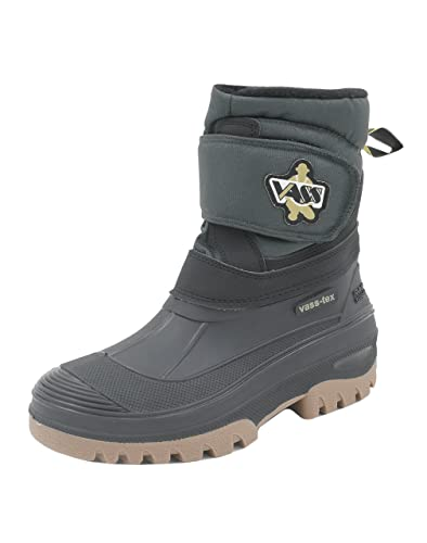Vass TEX Fleece Lined Boots With Velcro Strap (US 8)
