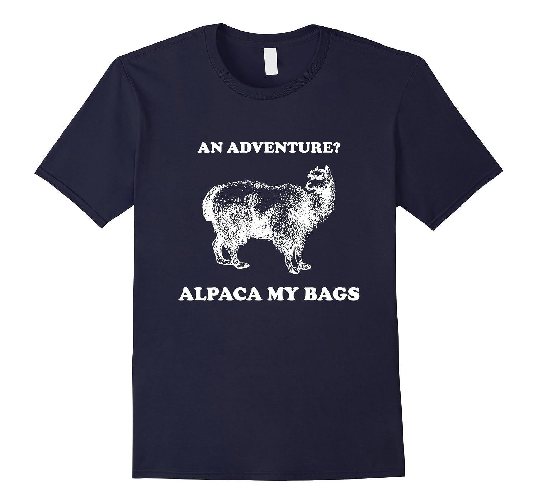 Alpaca My Bags T-shirt - Funny Alpaca Pun-TD