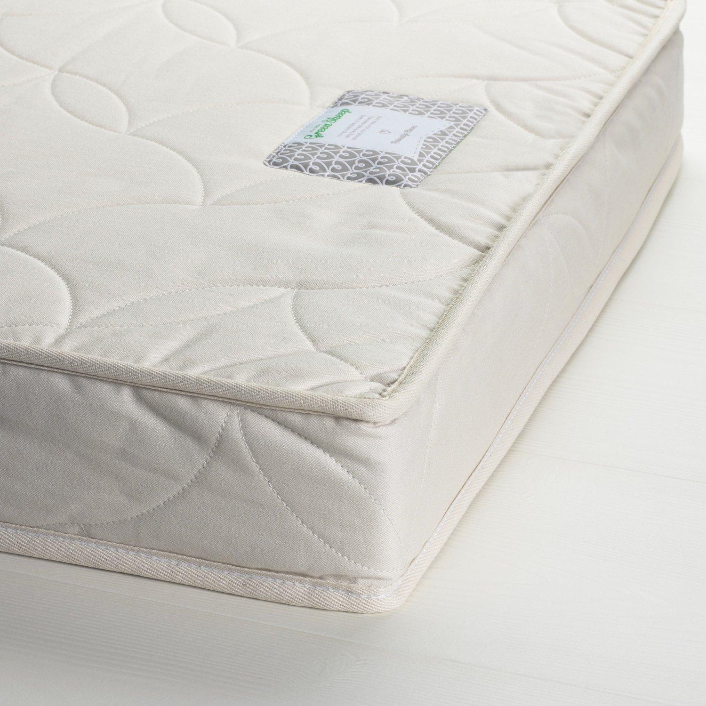 The Little Green Sheep Natural Twist Cot Bed Mattress 140 cm x 70