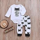 CozyWay 3Pcs Baby Outfits Set Newborn Infants Boys