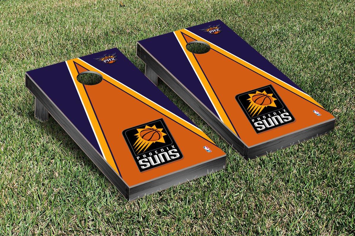 Phoenix Suns NBA Basketball Cornhole Game Set Triangle Version by Victory Tailgate