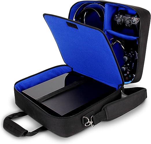 USA GEAR Funda Bolsa de Transporte de Consolas Compatible con Todos los Modelos de PS4 y PS3: Amazon.es: Electrónica