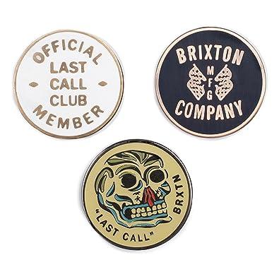Brixton Ltd Last Call Pin Pack: Amazon co uk: Shoes & Bags