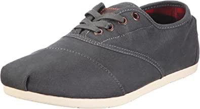 TOMS Navy Waxed Twill Men's Cordones 005045A12-NVY