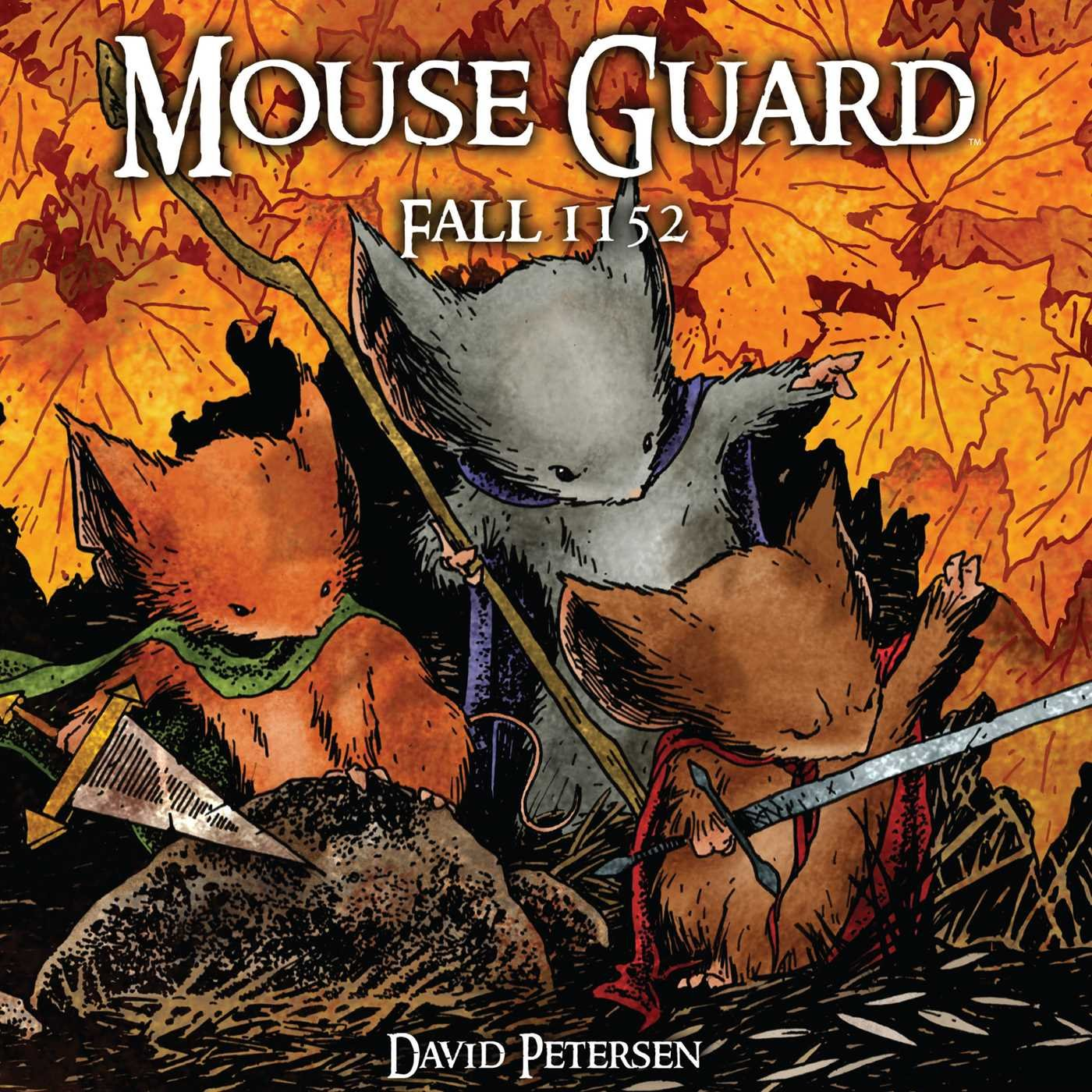 Mouse Guard Volume 1: Fall 1152: Amazon.de: David Petersen: Fremdsprachige  Bücher