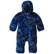 Columbia Baby Boys' Snowtop II Bunting, Hyper Blue/Critter Camo, 3-6 Months
