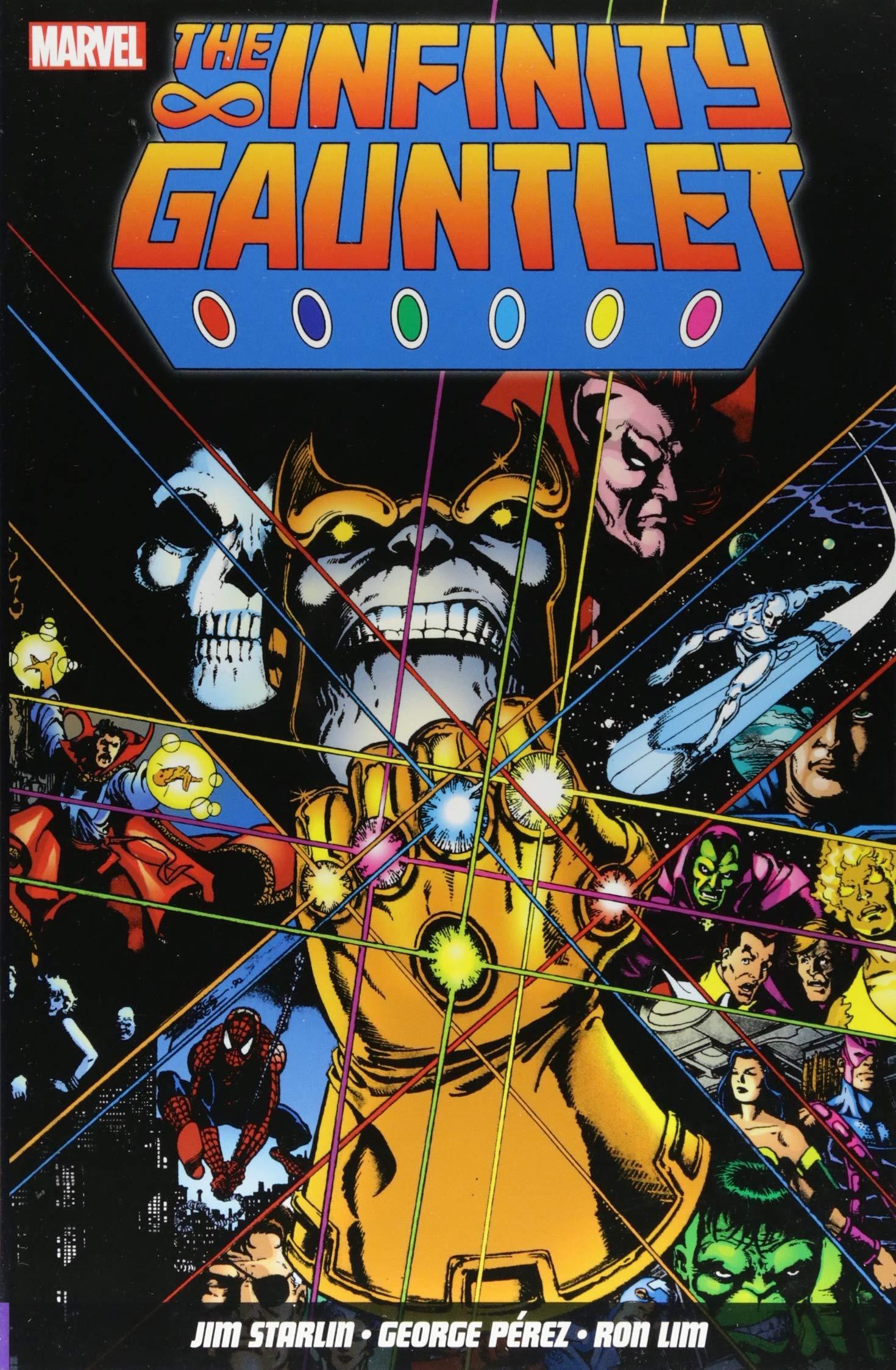 The Infinity Gauntlet: Amazon.es: Starlin, Jim, Perez, George ...