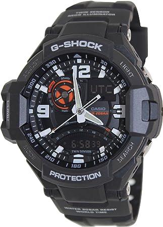 3c34cece92b Amazon.com  Casio G-Shock GA-1000-1A Aviation Series Men s Luxury ...