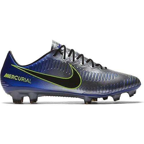 8e4e4e276 Nike Men s s Mercurial Vapor Xi NJR Fg Fitness Shoes Multicolour (Racer  Blue Black-
